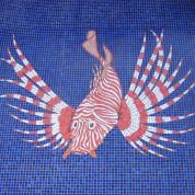 Art mosaique motifs poisson 3
