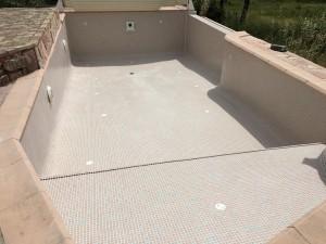 Après rénovation piscine