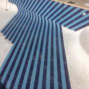 Travaux piscine mosaïque